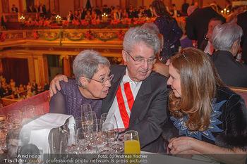 Philharmonikerball 2019 - Musikverein Wien - Do 24.01.2019 - Margit und Heinz FISCHER181