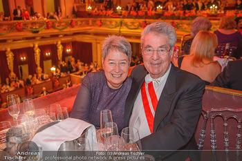 Philharmonikerball 2019 - Musikverein Wien - Do 24.01.2019 - Margit und Heinz FISCHER182