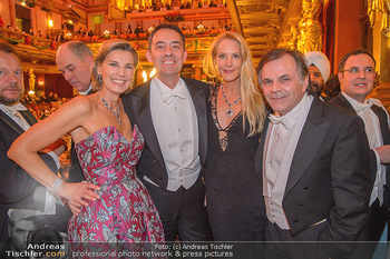 Philharmonikerball 2019 - Musikverein Wien - Do 24.01.2019 - Desiree TREICHL-STÜRGKH, Eva DICHAND, Bogdan ROSCIC, Markus HIN185