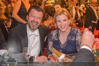 Philharmonikerball 2019 - Musikverein Wien - Do 24.01.2019 - Beate MEINL-REISINGER (mit Ehemann?)194