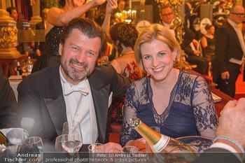 Philharmonikerball 2019 - Musikverein Wien - Do 24.01.2019 - Beate MEINL-REISINGER (mit Ehemann?)195