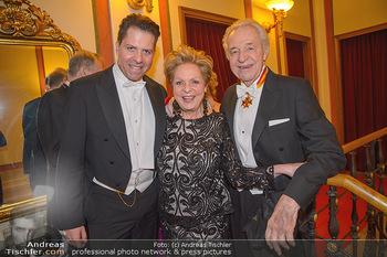 Philharmonikerball 2019 - Musikverein Wien - Do 24.01.2019 - Familie Harald, Ingeborg und Daniel SERAFIN209