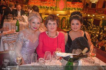 Philharmonikerball 2019 - Musikverein Wien - Do 24.01.2019 - Martina FASSLABEND, Helga RABL-STADLER, Anna NETREBKO212
