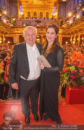 Philharmonikerball 2019 - Musikverein Wien - Do 24.01.2019 - Wolfgang FELLNER, Katrin LAMPE218