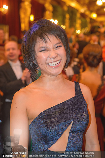 Philharmonikerball 2019 - Musikverein Wien - Do 24.01.2019 - Yuja WANG (Portrait)228