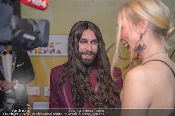 Regenbogenball - Parkhotel Schönbrunn - Sa 26.01.2019 - Conchita WURST (Fake, Double - wurde als echt präsentiert), gib25