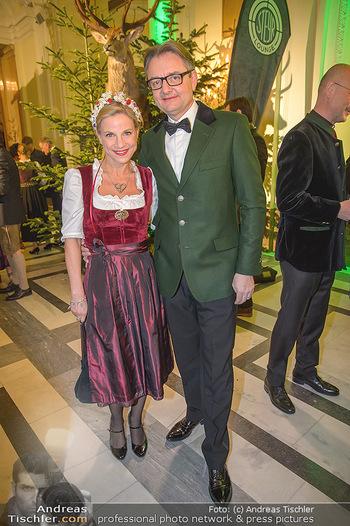 Jägerball - Hofbur - Mo 28.01.2019 - Kristina SPRENGER mit Ehemann Gerald GERSTBAUER76