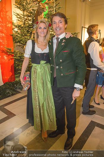 Jägerball - Hofbur - Mo 28.01.2019 - Ali Alexander QUESTER mit Ehefrau Kaja83