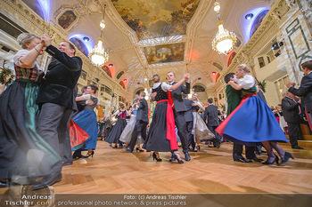 Jägerball - Hofbur - Mo 28.01.2019 - Balleröffnung, Tanzpaare Tänzer in Tracht234