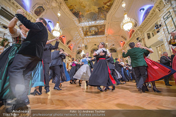 Jägerball - Hofbur - Mo 28.01.2019 - Balleröffnung, Tanzpaare Tänzer in Tracht235