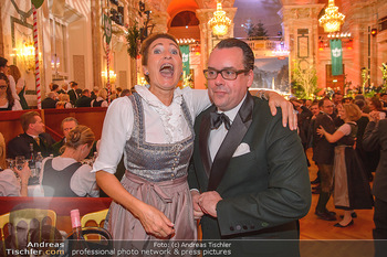 Jägerball - Hofbur - Mo 28.01.2019 - Bettina STEIGENBERGER, Niki Nikolaus VENTURINI245