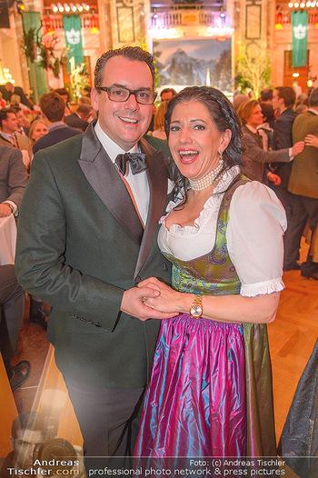 Jägerball - Hofbur - Mo 28.01.2019 - Niki Nikolaus und Christina VENTURINI248