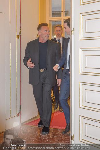 Schwarzenegger trifft Kurz - Bundeskanzleramt - Di 29.01.2019 - Arnold SCHWARZENEGGER, Sebastian KURZ12