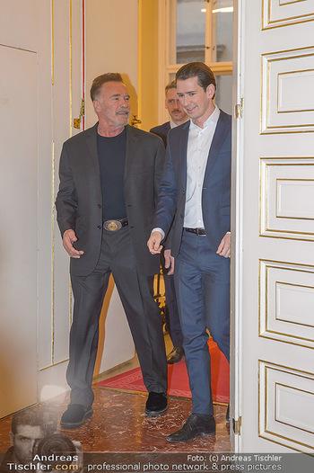 Schwarzenegger trifft Kurz - Bundeskanzleramt - Di 29.01.2019 - Arnold SCHWARZENEGGER, Sebastian KURZ13