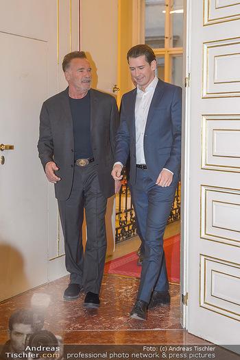 Schwarzenegger trifft Kurz - Bundeskanzleramt - Di 29.01.2019 - Arnold SCHWARZENEGGER, Sebastian KURZ14