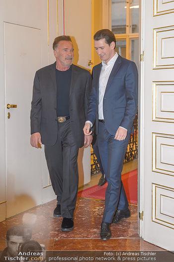 Schwarzenegger trifft Kurz - Bundeskanzleramt - Di 29.01.2019 - Arnold SCHWARZENEGGER, Sebastian KURZ15