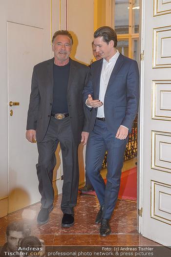 Schwarzenegger trifft Kurz - Bundeskanzleramt - Di 29.01.2019 - Arnold SCHWARZENEGGER, Sebastian KURZ16