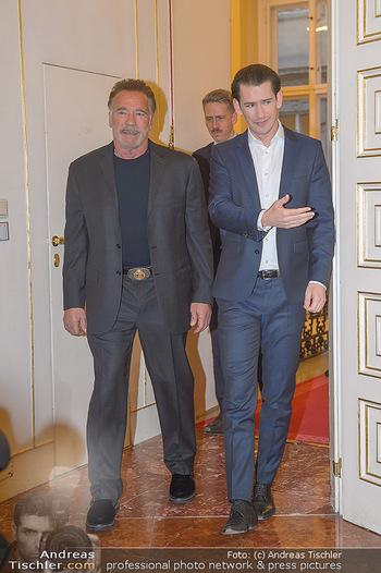 Schwarzenegger trifft Kurz - Bundeskanzleramt - Di 29.01.2019 - Arnold SCHWARZENEGGER, Sebastian KURZ17