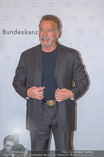 Schwarzenegger trifft Kurz - Bundeskanzleramt - Di 29.01.2019 - Arnold SCHWARZENEGGER, Sebastian KURZ19