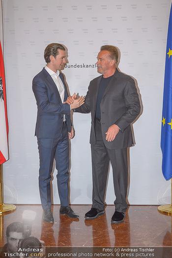 Schwarzenegger trifft Kurz - Bundeskanzleramt - Di 29.01.2019 - Arnold SCHWARZENEGGER, Sebastian KURZ20