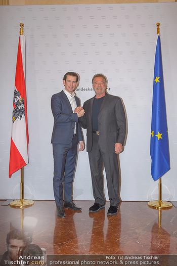 Schwarzenegger trifft Kurz - Bundeskanzleramt - Di 29.01.2019 - Arnold SCHWARZENEGGER, Sebastian KURZ25