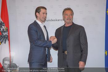 Schwarzenegger trifft Kurz - Bundeskanzleramt - Di 29.01.2019 - Arnold SCHWARZENEGGER, Sebastian KURZ26