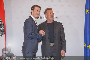 Schwarzenegger trifft Kurz - Bundeskanzleramt - Di 29.01.2019 - Arnold SCHWARZENEGGER, Sebastian KURZ27