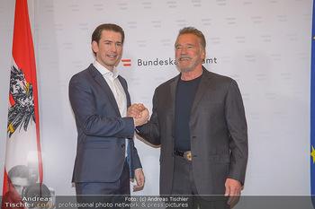 Schwarzenegger trifft Kurz - Bundeskanzleramt - Di 29.01.2019 - Arnold SCHWARZENEGGER, Sebastian KURZ28