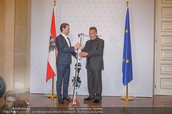 Schwarzenegger trifft Kurz - Bundeskanzleramt - Di 29.01.2019 - Arnold SCHWARZENEGGER, Sebastian KURZ29
