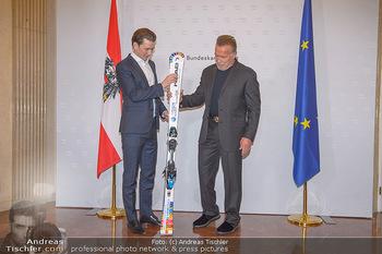 Schwarzenegger trifft Kurz - Bundeskanzleramt - Di 29.01.2019 - Arnold SCHWARZENEGGER, Sebastian KURZ30
