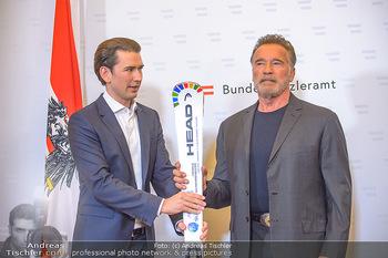 Schwarzenegger trifft Kurz - Bundeskanzleramt - Di 29.01.2019 - Arnold SCHWARZENEGGER, Sebastian KURZ41