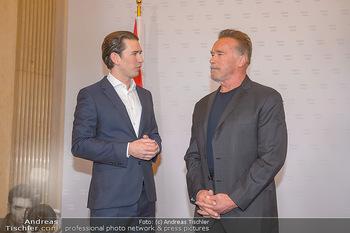 Schwarzenegger trifft Kurz - Bundeskanzleramt - Di 29.01.2019 - Arnold SCHWARZENEGGER, Sebastian KURZ42