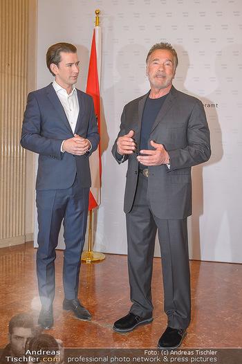 Schwarzenegger trifft Kurz - Bundeskanzleramt - Di 29.01.2019 - Arnold SCHWARZENEGGER, Sebastian KURZ44