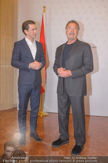 Schwarzenegger trifft Kurz - Bundeskanzleramt - Di 29.01.2019 - Arnold SCHWARZENEGGER, Sebastian KURZ45