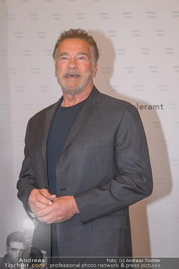Schwarzenegger trifft Kurz - Bundeskanzleramt - Di 29.01.2019 - Arnold SCHWARZENEGGER (Portrait)46