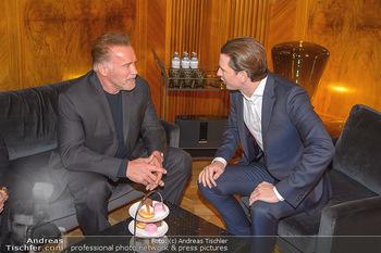 Schwarzenegger trifft Kurz - Bundeskanzleramt - Di 29.01.2019 - Arnold SCHWARZENEGGER, Sebastian KURZ47