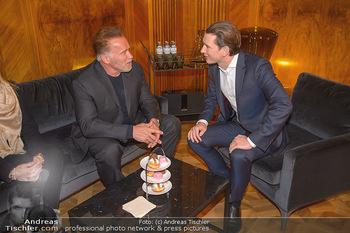 Schwarzenegger trifft Kurz - Bundeskanzleramt - Di 29.01.2019 - Arnold SCHWARZENEGGER, Sebastian KURZ48