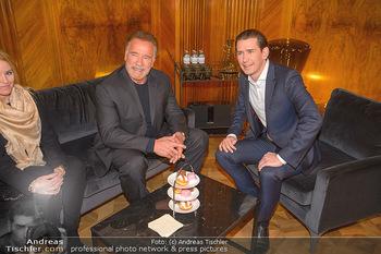 Schwarzenegger trifft Kurz - Bundeskanzleramt - Di 29.01.2019 - Arnold SCHWARZENEGGER, Sebastian KURZ50