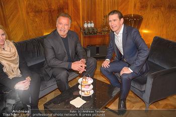 Schwarzenegger trifft Kurz - Bundeskanzleramt - Di 29.01.2019 - Arnold SCHWARZENEGGER, Sebastian KURZ51