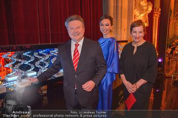 Österreichischer Filmpreis - Rathaus Wien - Mi 30.01.2019 - Michael LUDWIG, Ursula (Uschi) STRAUSS, Marlene ROPAC1