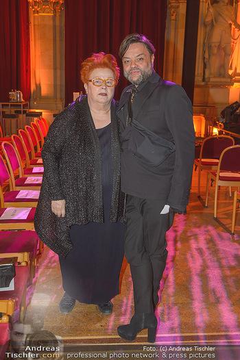 Österreichischer Filmpreis - Rathaus Wien - Mi 30.01.2019 - Alfred MAYERHOFER, Doris FUHRMANN100