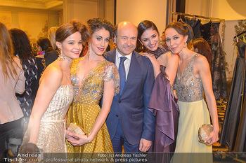 Couture Salon - Hotel Bristol Wien - Di 12.02.2019 - Tina TONOLI, Alice FIRENZE, Dominique MEYER, Ketevan PAPAVA, Nin46