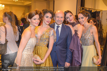 Couture Salon - Hotel Bristol Wien - Di 12.02.2019 - Tina TONOLI, Alice FIRENZE, Dominique MEYER, Ketevan PAPAVA, Nin47