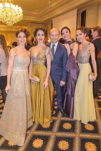Couture Salon - Hotel Bristol Wien - Di 12.02.2019 - Tina TONOLI, Alice FIRENZE, Dominique MEYER, Ketevan PAPAVA, Nin48