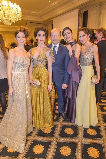 Couture Salon - Hotel Bristol Wien - Di 12.02.2019 - Tina TONOLI, Alice FIRENZE, Dominique MEYER, Ketevan PAPAVA, Nin49