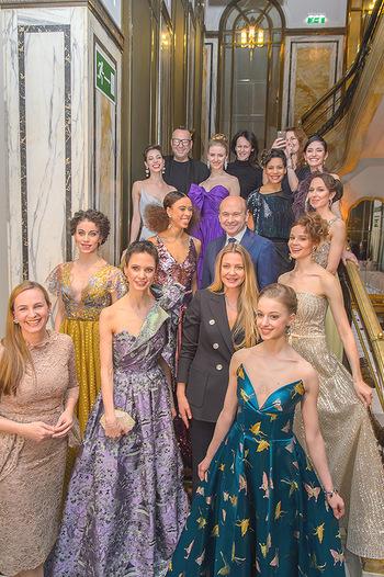 Couture Salon - Hotel Bristol Wien - Di 12.02.2019 - Dominique MEYER und Maria GROßBAUER mit Solotänzern und Solot81