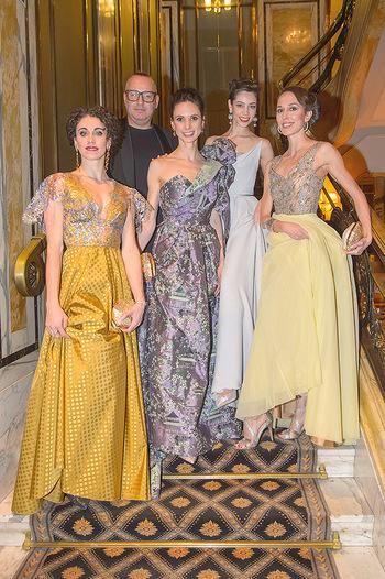 Couture Salon - Hotel Bristol Wien - Di 12.02.2019 - Maria YAKOVLEVA, Alice FIRENZE, Jürgen Christian HÖRL, Liudmil82