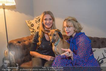 Premiere ´Pathos´ von Angelika Niedetzky - CasaNova, Wien - Mi 13.02.2019 - Angelika NIEDETZKY mit Hund Maja, Elke WINKENS10