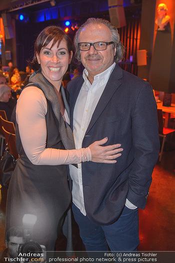 Premiere ´Pathos´ von Angelika Niedetzky - CasaNova, Wien - Mi 13.02.2019 - Adriana ZARTL mit Ehemann Andreas STICH17