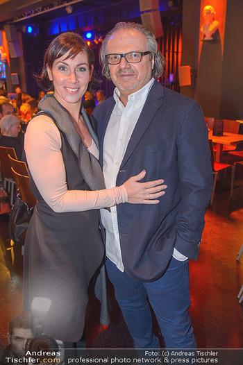 Premiere ´Pathos´ von Angelika Niedetzky - CasaNova, Wien - Mi 13.02.2019 - Adriana ZARTL mit Ehemann Andreas STICH18